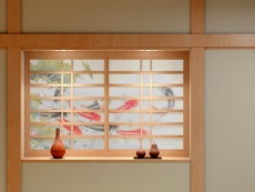 Shoji (sliding paper door---Japanese paper)