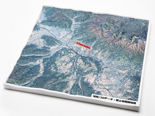 3DUJ-553: Building model (Map)