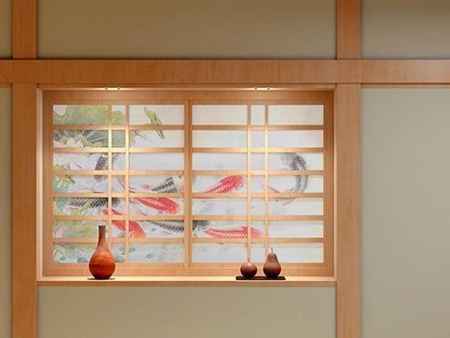 Shoji (sliding paper door)