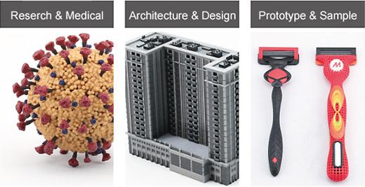 Reserch & Medical / Architecture & Design / Prototype & Sample
