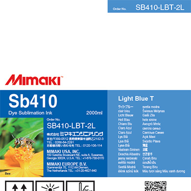 SB410-LBT-2L Sb410 Light Blue T