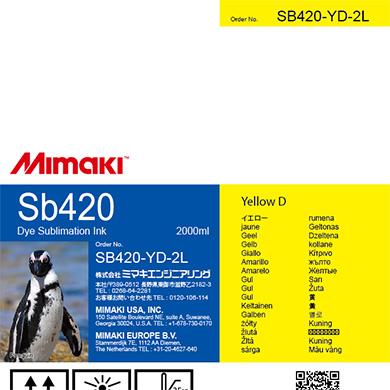 SB420-YD-2L Sb420 Yellow D