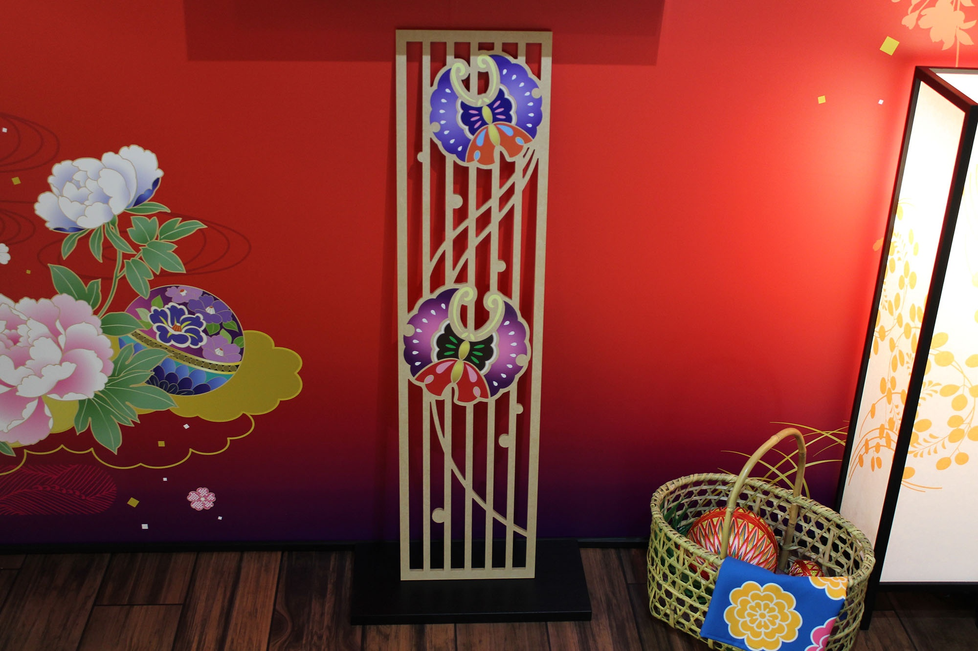 Small decorative panel