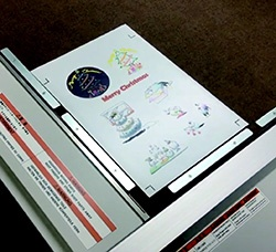 the magnet sheet on the cutting plotter