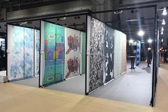 "Collaboration with ""JAPANTEX 2017 Digital Print Exhibition"""