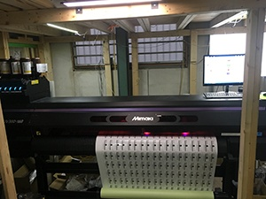 UCJV300-160 printer is suitable for soft materials.